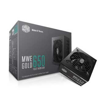 650W Cooler Master MWE GOLD 650 Fully modula