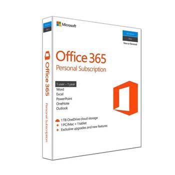 Office Personal 365 English APAC EM Subscr 1YR Medialess P4 (QQ2-00807)