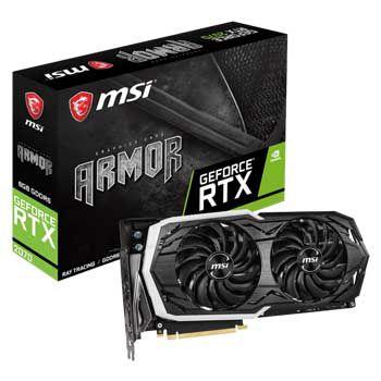 8GB MSI RTX 2070 ARMOR 8G