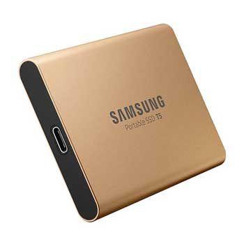 1TB Samsung T5 Portable - (MU-PA1T0G - MÀU VÀNG ) - EXTERNAL