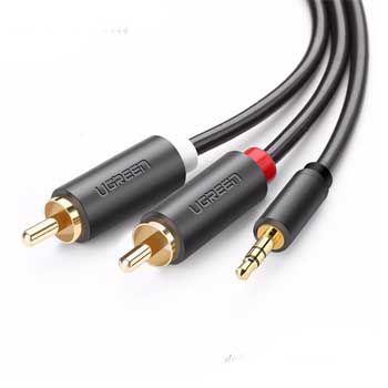 Cable LOA 1 Jack 3.5mm -> 2 RCA Ugreen 10511