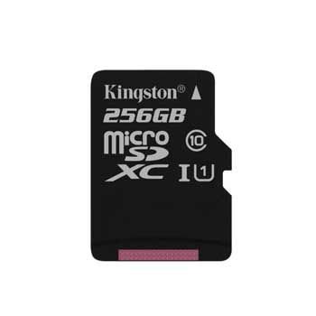 MICRO-SD 256GB KINGSTON CLASS 10