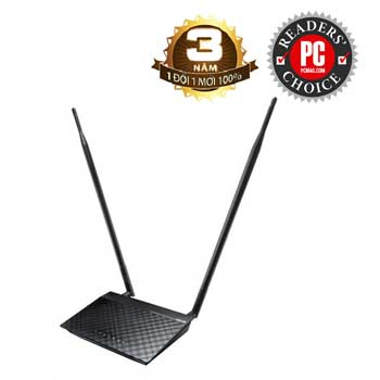 ASUS RT-N12HP (Black Diamond) N300 3-in-1 Wi-Fi Router / Access Point / Repeater