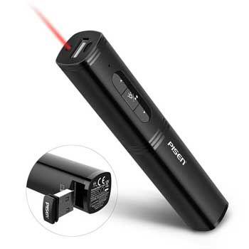 PISEN Laser ChargingPen II 2500mAh - Bút chiếu & Sạc dự phòng 2 trong 1