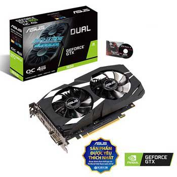 4GB ASUS DUAL-GTX1650-O4G