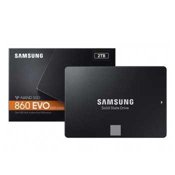 2Tb Samsung SSD 860 EVO(MZ-76E2T0BW)