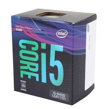 Intel Coffee lake i5 8400(2.8GHz) Chỉ hỗ trợ Windows 10