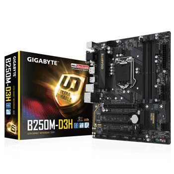 GIGABYTE B250M-D3H (1151)