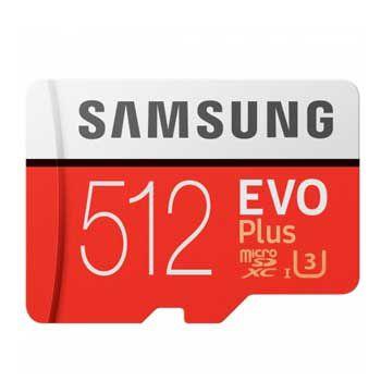 MICRO-SD 512GB Samsung Evo plus -CL10W- Class 10