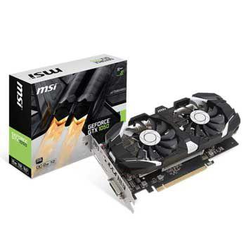 2GB MSI GTX 1050 2GT OC
