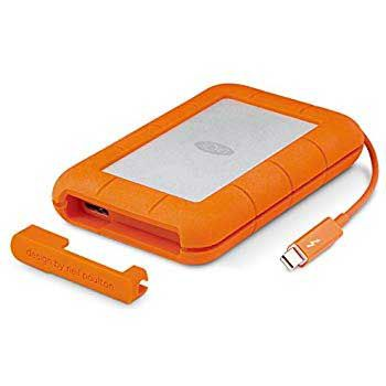2Tb LACIE Rugged USB 3.1 Type C - c.3600 with Rescue