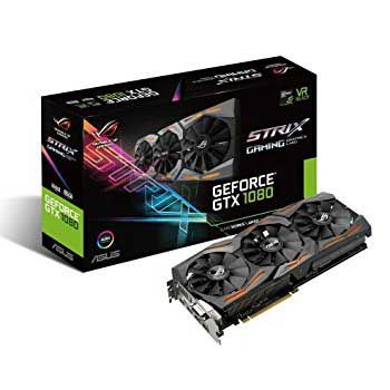 8GB ASUS STRIX GTX1080-A8G-GAMING