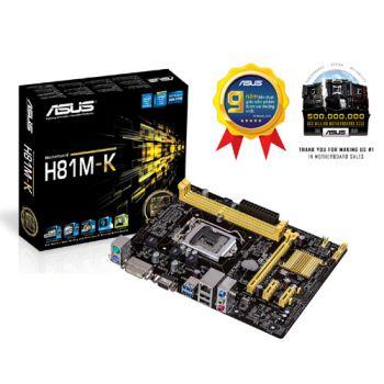 ASUS H81 M-K (1150) (Box)