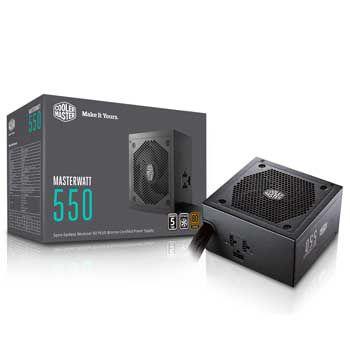 550W C . MASTERWATT 550 SEMI - MODULAR