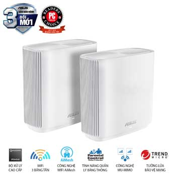 ZenWiFi Router CT8 (W-2-PK)
