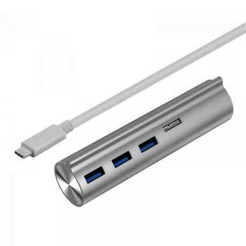 HUB TYPE-C -> 3 USB 3.0 + 2 CARD TF/SD UNITEK (Y-3094)