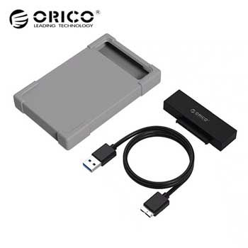 Cáp sạc Lightning/Type C/Micro B USB 2.0 ORICO UTS-12-BL