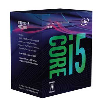 Intel Coffee lake i5 8600(3.1GHz) Chỉ hỗ trợ Windows 10