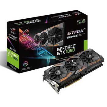 6GB ASUS STRIX-GTX1060-6G-GAMING