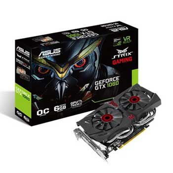 6GB ASUS STRIX - GTX1060-DC2O6G