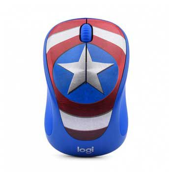 LOGITECH WIRELESS M238 MARVEL XANH (CAPTAIN AMERICA)