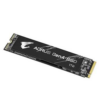 1TB Gigabyte AORUS M.2-2280 PCIe NVMe Gen 4x4 (GP-AG41TB)