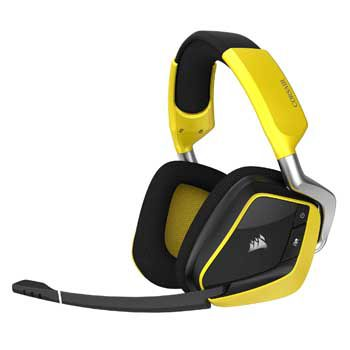 HEADPHONE Cosair VOID PRO WIRELESS SE (Yellow) (Không dây)