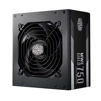 750W Cooler Master GOLD 750 Fully modular
