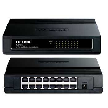 16 PORT TP-LINK TL-SF1016D