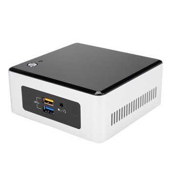INTEL BOX NUC5PPYH (Tiết kiệm điện hơn 90%, tiêu thụ từ 5W-10W khi hoạt động) (Máy tính nhỏ , gọn nhất )