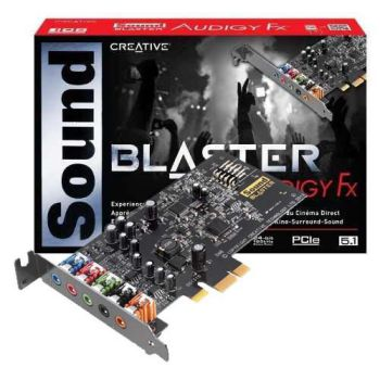 Sound card CREATIVE Blaster Audigy FX 5.1