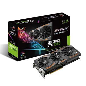 6GB ASUS STRIX GTX1060-O6G-GAMING