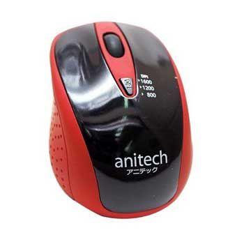 Chuột không dây ANITECH W214-RD