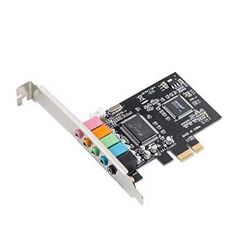 Sound card 5.1 (PCI Express 1X)