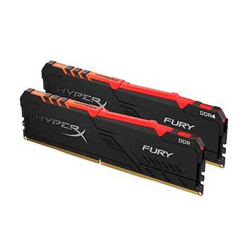 32GB DDRAM 4 3200 KINGSTON HyperX Fury RGB (KIT)