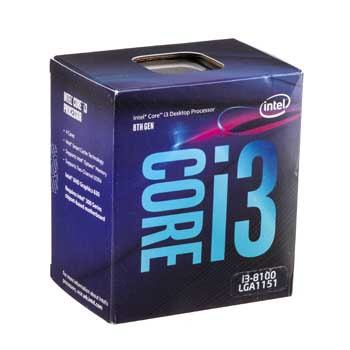 Intel Coffee lake i3 8100(3.6GHz) Chỉ hỗ trợ Windows 10