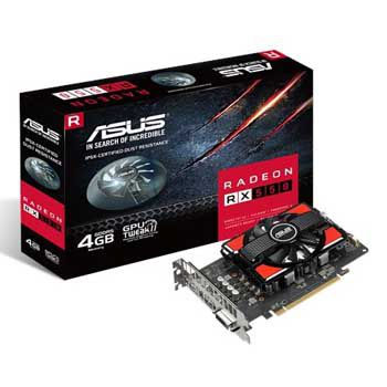 4GB ASUS RX550-4G