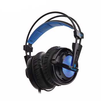 HEADPHONE SADES Locust plus - SA904 LED RGB (GAMING HEADSET )