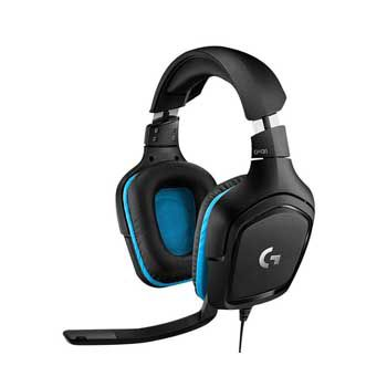 HEADPHONE LOGITECH G431 (co mic) Dành cho GAME