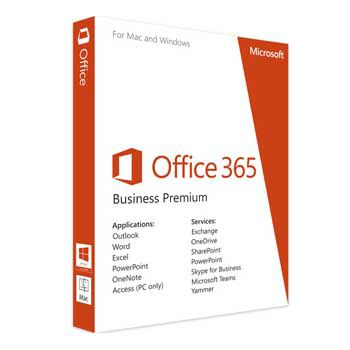 Office business 365 English APAC EM Subscr 1YR Medialess P4 (KLQ-00429)