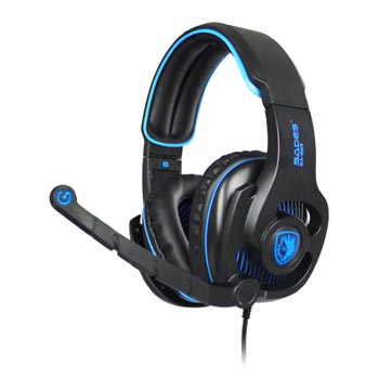 HEADPHONE SADES HAMMER - SA 923 (GAMING HEADSET )