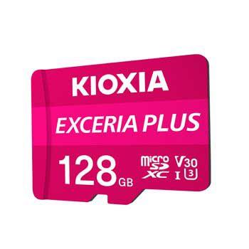 MICRO- SDXC 128GB Kioxia Exceria Plus UHS-I C10-LNPL1M128G