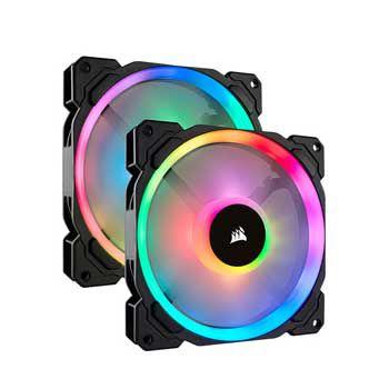 Fan case Corsair LL140 RGB kèm Node PRO CO-9050074-WW ( Bộ 2 Fan)