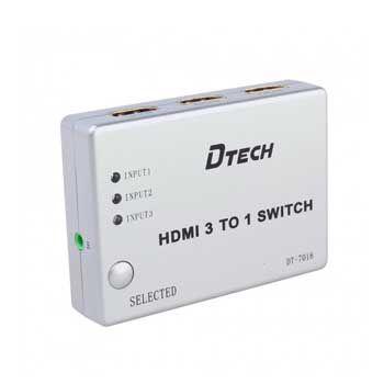 SWITCH HDMI 3-1 DTECH DT-7018