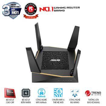 Thiết bị phát Wifi ASUS RT-AX92U (AiMesh Router)