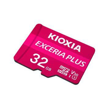 MICRO- SDHC 32GB Kioxia Exceria Plus UHS-I C10-LMPL1M032GG2