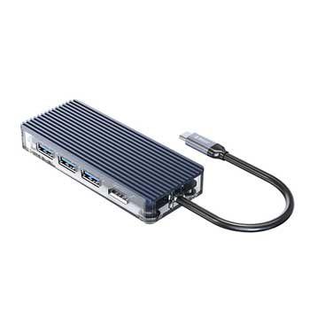 Cáp chuyển USB Type C sang HDMI/ USB 3.0/ Reader ORICO WB-6TS-GY