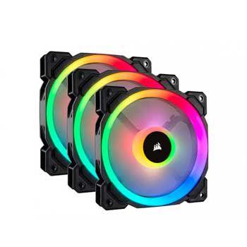 Fan caseCorsair LL120 RGB CO-9050072-WW kèm Node PRO ( Bộ 3 Fan)