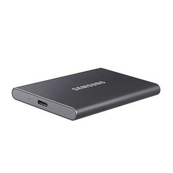 1TB Samsung T7 Portable - (MU-PC1T0T - MÀU XÁM) - EXTERNAL