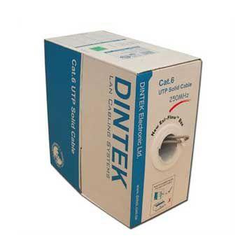 CABLE DINTEK CAT 6 305m CHỐNG NHIỄU ( 1107-04001CH)